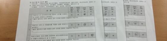 4월 적응회원지원교육 평가를 실시하였습니다 ^^
