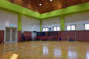 방송댄스 및 건강관리 실시하는 체육관입니다.