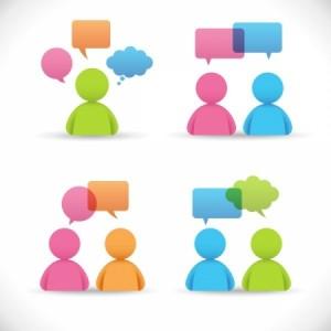 이용자 자치회의 그룹 로고